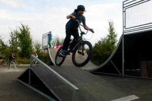 Inliner- und Fahrradpark